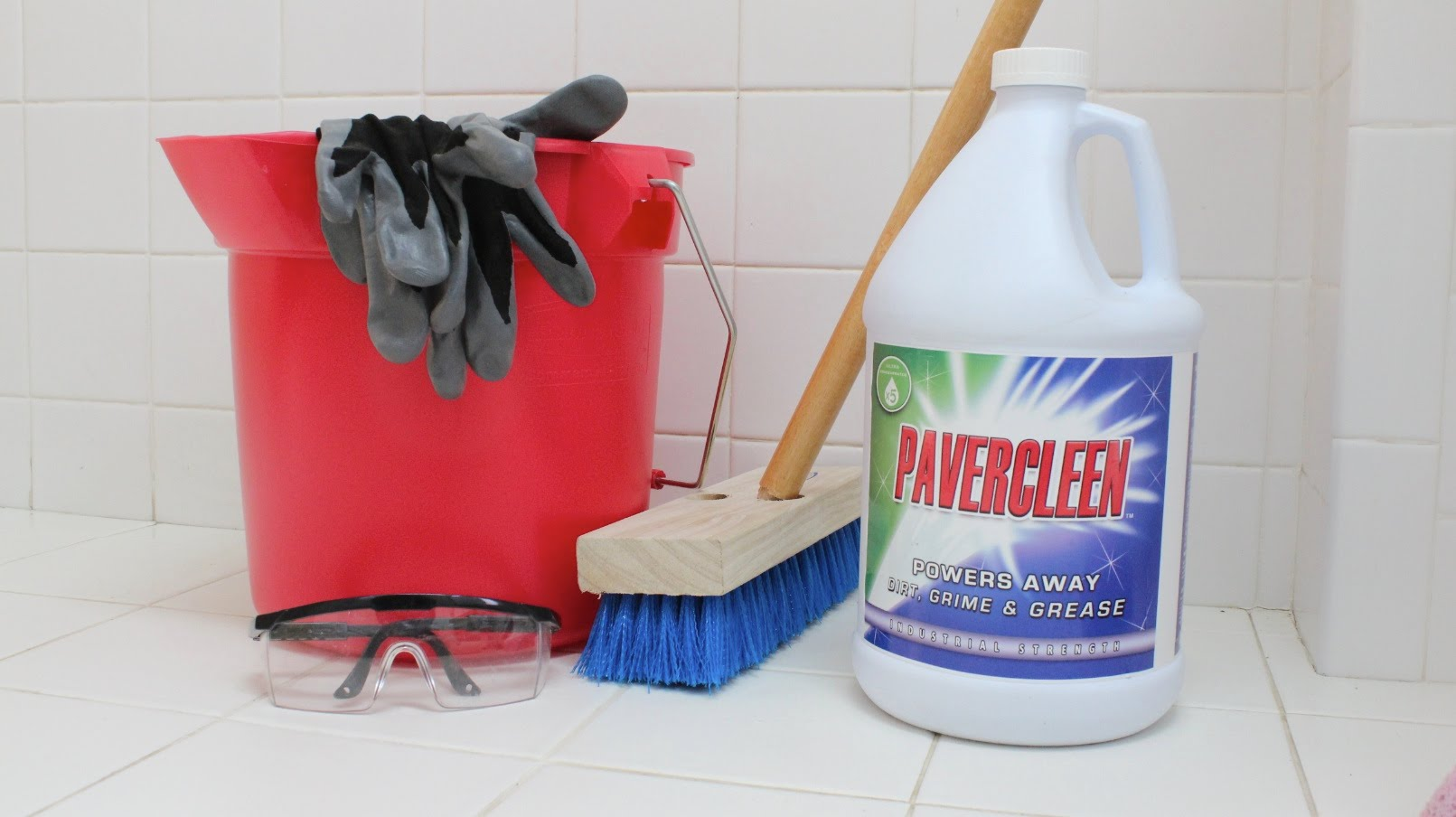 Paver cleaner concrete degreaser for How to degrease concrete floor